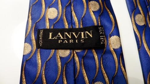 b91bac29fac30 VERY BEAUTIFUL LANVIN PARIS SILK TIE PERFECT CONDITION TRES BELLE CRAVATE  LANVIN PARIS EN SOIE PARFAIT ETAT REFERENCE: CRAVATE ANNEE/YEAR: NOW/  MAINTENANT ...