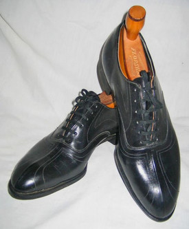 spacevintage,marseille,france,Chaussure Homme à lacet, oxford vintage 1920