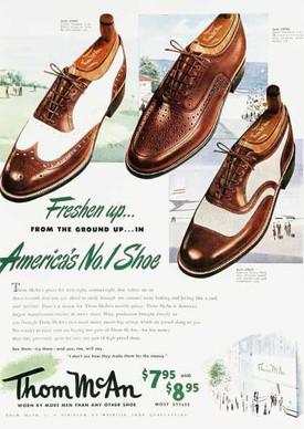 spacevintage,marseille,france,chaussure classique 2 tons à lacet et mocassin, cap toe shoes et wing gtip shoes vinatge homme 1950