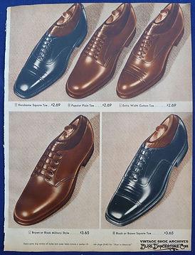 spacevintage,marseille,france,chaussures, bottines,espadrille,pantoufle,bottes,mocassins,sandales,cap toe shoes,wing tip shoes, spectator shoes,homme vintage 1940