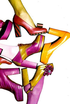 sandales,escarpins,compensés,mules,chaussures,plateformes,sabots,bottes,bottines,spacevintage,marseille,stock-neuf-époque,pas-cher,mocassins,