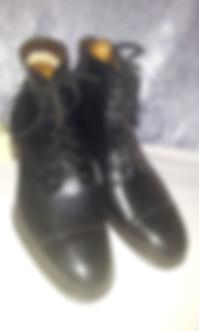spacevintage,marseille,france,Chaussure, Bottines Homme à lacet, cap toe vintage 1920