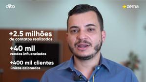 Case Lojas Zema - Dito CRM