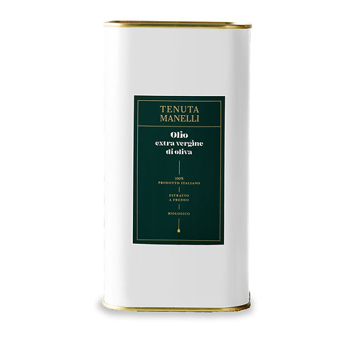 Olio extra vergine di oliva biologico 5l