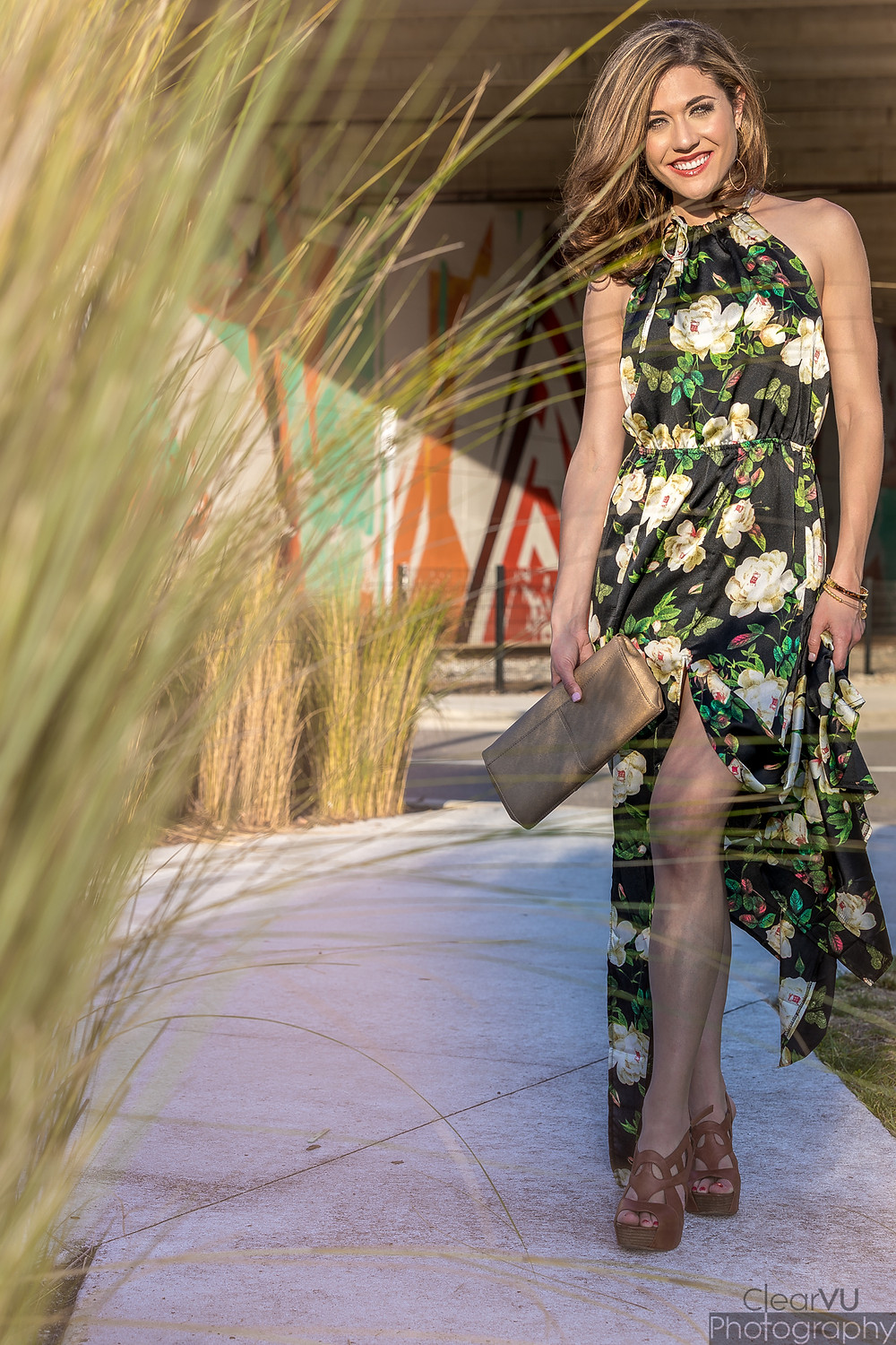 Livs Lookbook, floral maxi, floral maxi dress