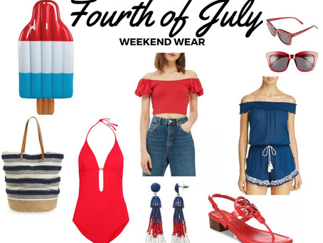 Fourth of July Weekend Wear