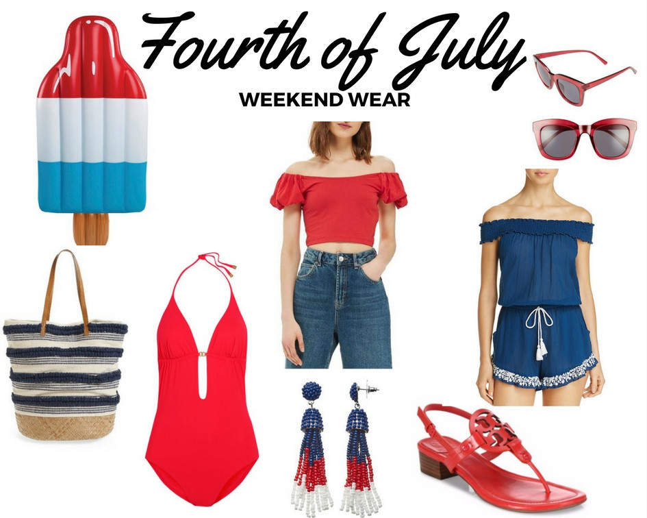 Fourth of July, Fourth of July outfits, Liv's Lookbook, Fourth of July accessories