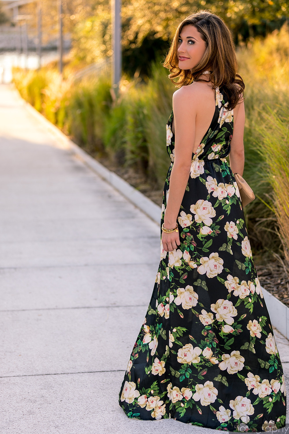 Livs Lookbook, floral maxi, floral maxi dress, maxi dress