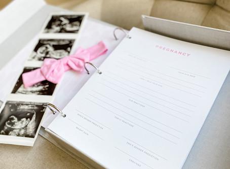 Documenting baby's milestones