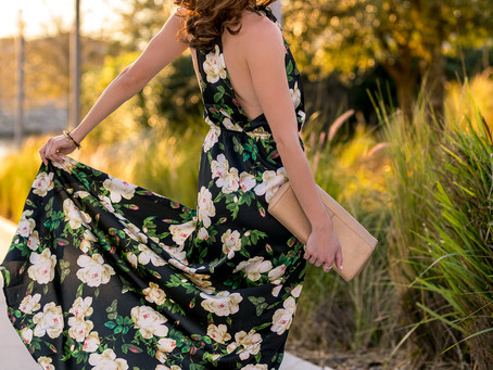 Look of the Month: The Floral Maxi