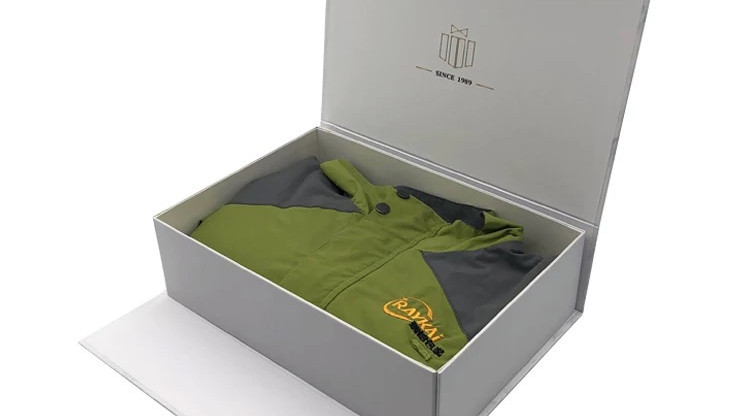 Garments rigid box Tiruppur export from Sivakasi manufacturer