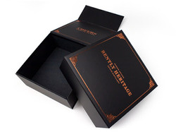 Flap Open Magnetic Rigid Box