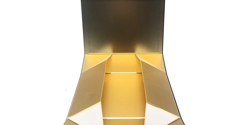 Collapsible space saving rigid gift box Sivakasi folding rigid boxes