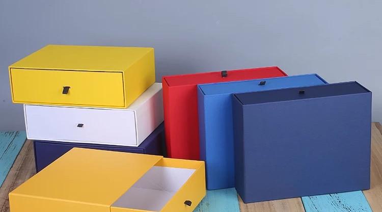 Colourful rigid boxes gift boxes drawer Sivakasi rigid box manufacturer