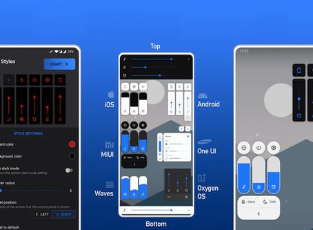 Come personalizzare il pannello del Volume sui dispositivi Android!