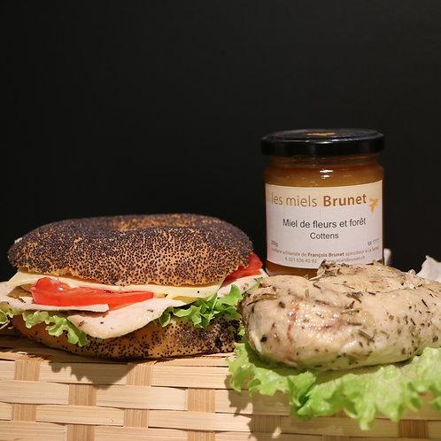Sandwich Poulet Gruyère AOP