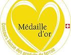 Saveurs d'ici - Label médaille d'or concours Suisse des produits du terroir