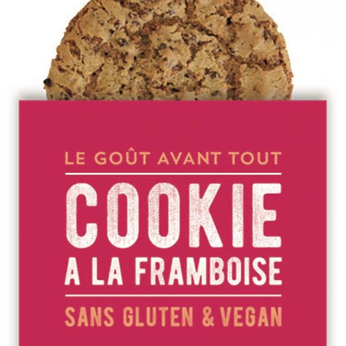 Cookie framboise 65g
