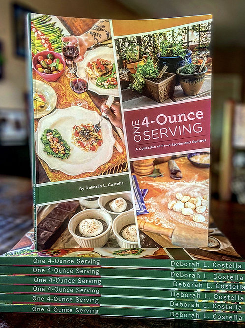 One 4 Ounce Serving Cook Book