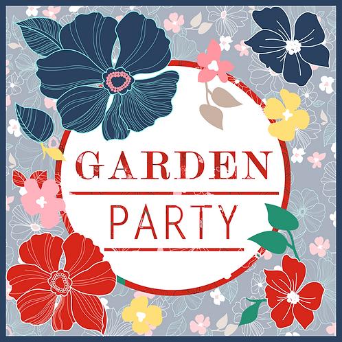 Garden Party: 3 Seamless Prints