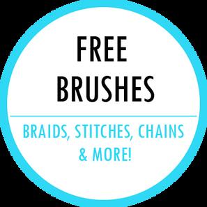 Free Adobe Illustrator fashion brushes