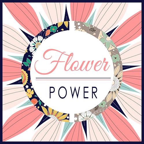 Flower Power Seamless Print
