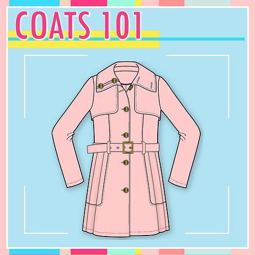 C.A.D. Package - 3 Coat Designs
