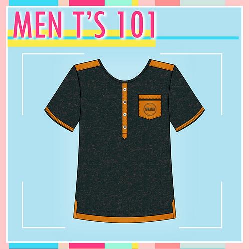 C.A.D. Package - 2 Men T-shirt Designs
