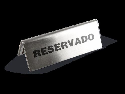 LETRERO DE RESERVADO