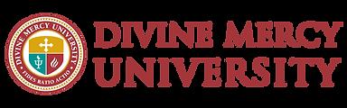 Divine Mercy University Logo Full Color
