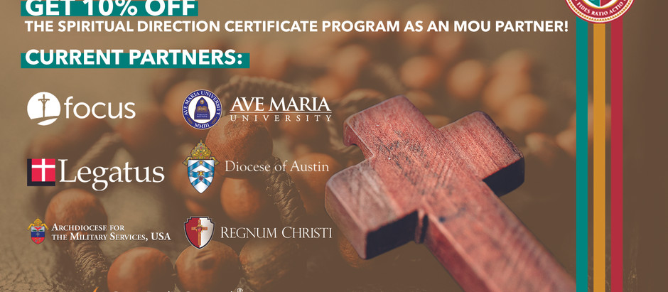 New! 10% Tuition Discount for the Spiritual Direction Certificate Program!