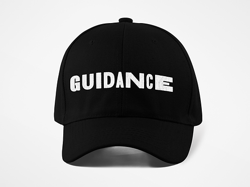 GUIDANCE Dad Hat - Black