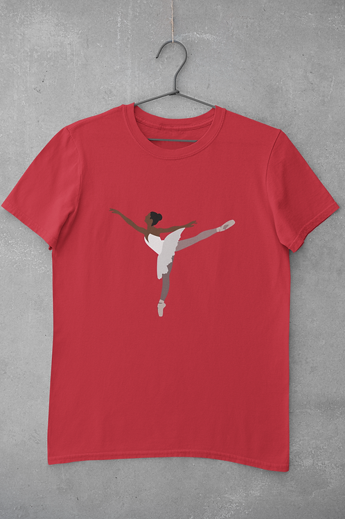 PIROUETTE Tee - Red