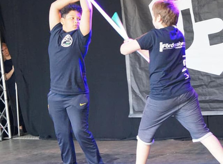 Lichtschwertkampf zur Kieler Woche