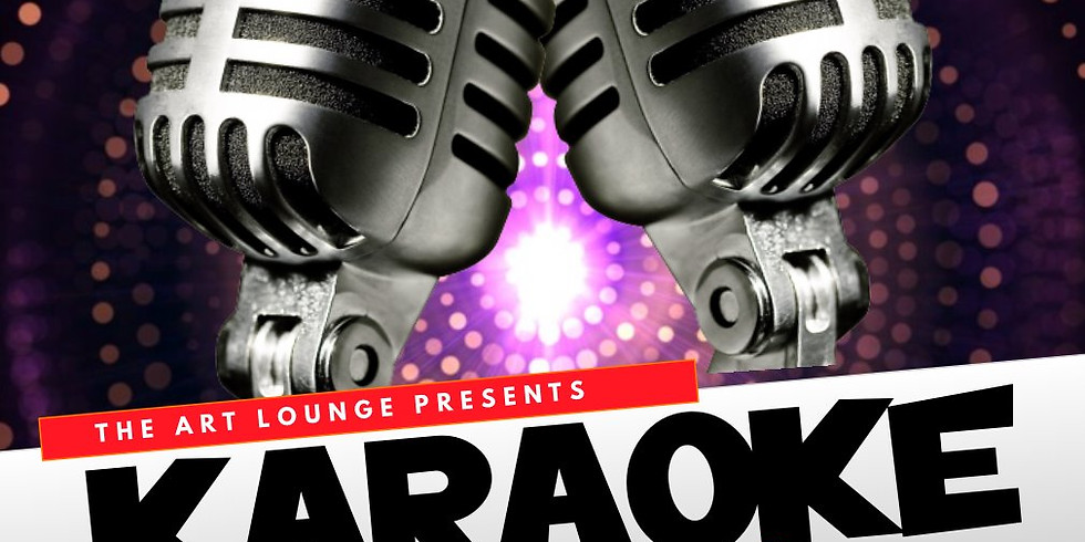 Karaoke Paint & Sip (18+) (SOLD OUT)