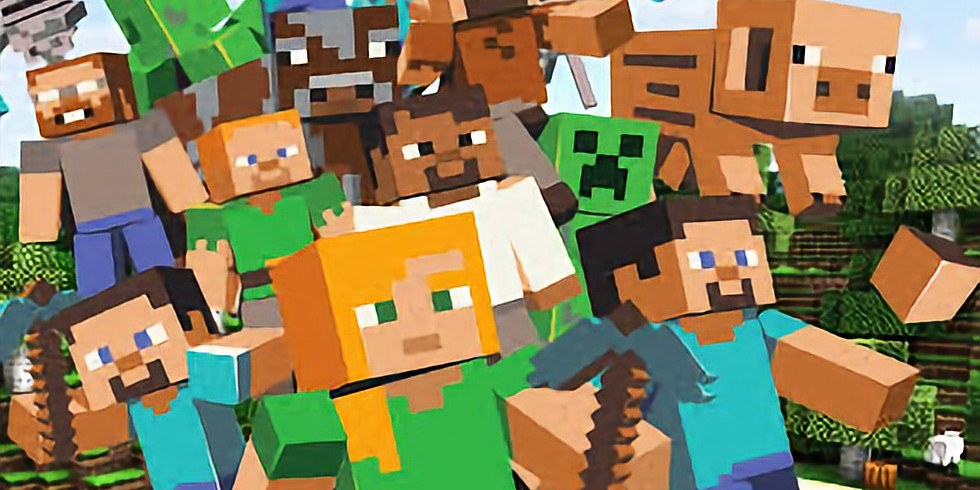 MInecraft paint & sip ( All ages 5+)