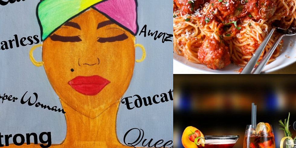 *SOLD OUT* Mother's Day Sip & Paint @ Bella Italia Restaurant feat. DJ Swirv Deniro