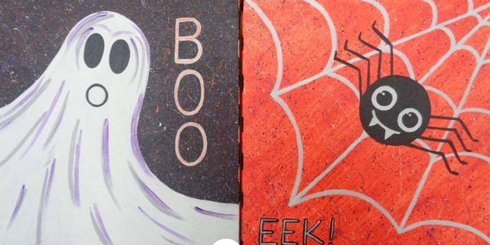 Paint or Treat Party ( 4 & up) (OPEN CLASS)