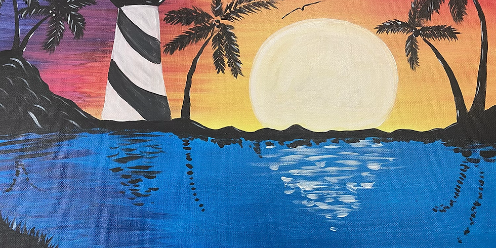 TIA'S BIRTHDAY Paint & Sip(PRIVATE)