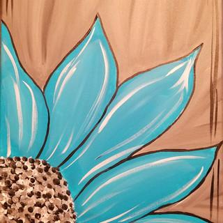 'Blue'tiful Flower