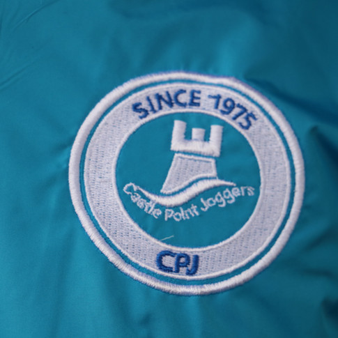 Stiched Logo on Jackets