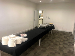 Kowhai Room- Food/Buffet Area