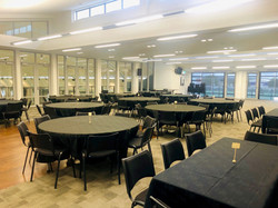 Kowhai Room- Round+Rectangle Tables
