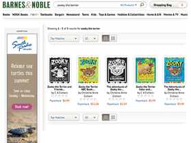 Zooky at Barnes & Noble Online