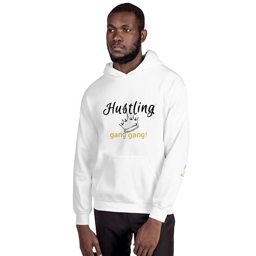 "Bad & Bougee 4Real ""the Culture"" HUSTLING Premium Unisex Hoodie for Men"