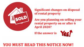 Rental Property Disposals