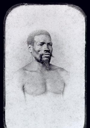 Homem da Nação Africana Cabinda