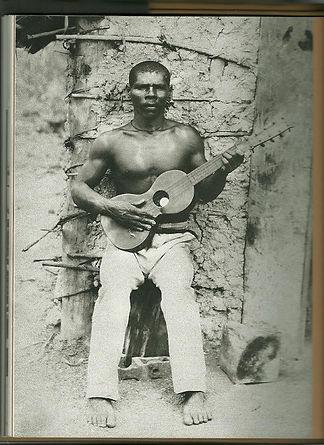 Violeiro Pernambuco - XIX - O Negro na f