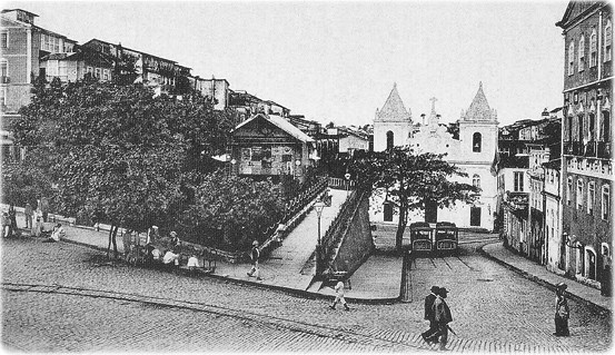 Igreja da Barroquinha em 1904