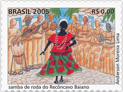 Samba_de_Roda,_ilustração_Anderson_Morei